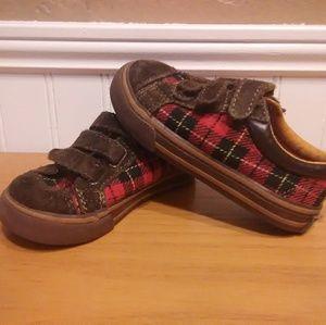 Gap Baby Plaid Shoes